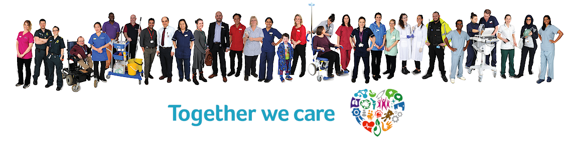 A selection of our staff - Together We Care